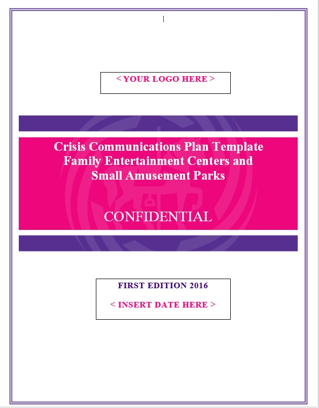 Item Detail - IAAPA Crisis Communications Plan Template - FEC Version